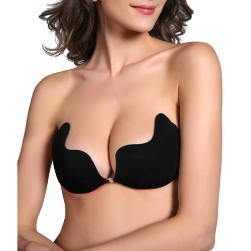 HDE Sexy Strapless Backless Self Adhesive Invisible Push ...