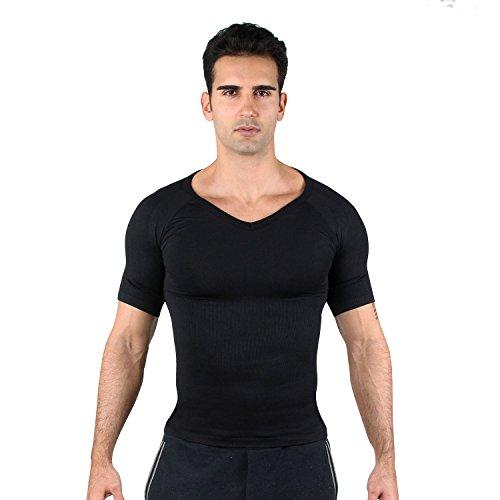 Hoter Mens Slim And Tight Super Soft Compression