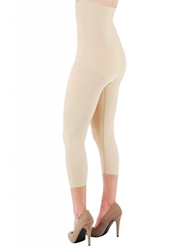Très Delfin Spa Body Slimming High Waist Shapewear Capri | Body Shaper CX26