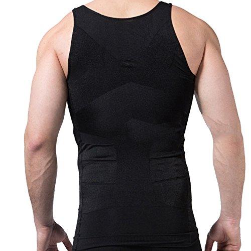 47a763c3a2a ... men s slimming trimmer body shaper vest lose weight underwears vest ...