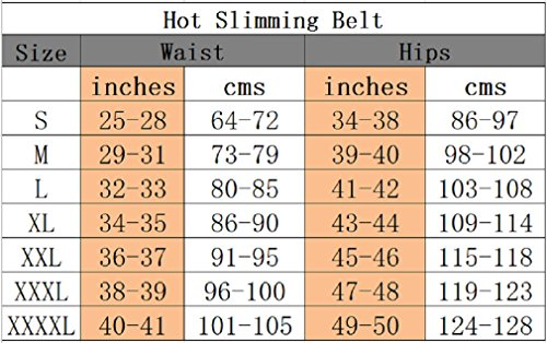bc0a04013b ValentinA Hot Thermo Sweat Neoprene Shapers Slimming Belt Waist Cincher  Girdle for Weight Loss Women  . Previous