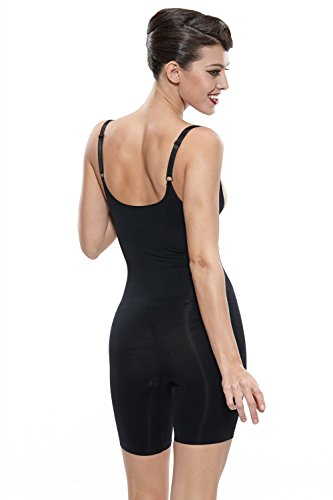 Franato Womens Shapewear Bodysuit Open Bust Waist Control Slimming Body Shaper