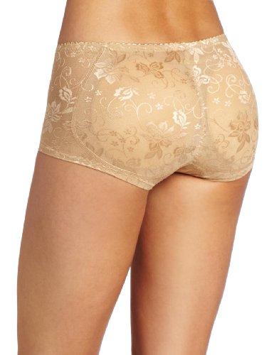 e1386d4d7c51a Heavenly Shapewear Women s Jacquard Padded Panty